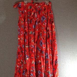 LuLaRoe Deanne Skirt EUC